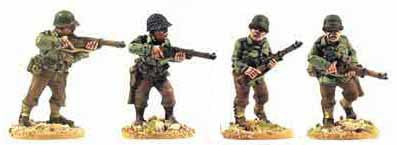 U.S Infantry with Rifles II (4)