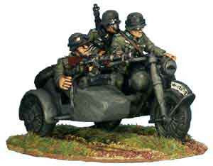 Werhmacht Motorcycle and Sidecar (1)