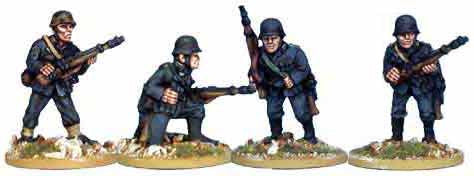 Wehrmacht Infantry with Rifles IV (4)