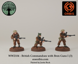 WW2104 - British Commandoes with Bren Guns I (3)