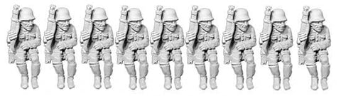 Panzer Grenadiers (Motorized Troops for Vehicles) (5)