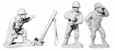 U.S. Infantry Mortar Team
