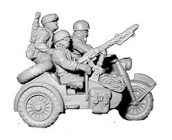 Fallschirmjager Motorcycle and Sidecar (1)