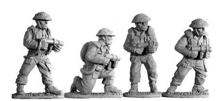 British Flamethrower Teams (4)