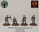 WW2176 - Russian Sailor Characters (4)