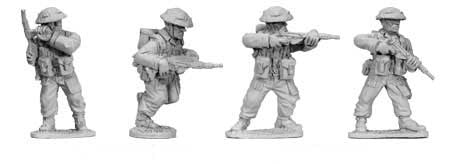 British Infantry with SMGs (4)