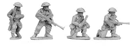 British Infantry Bren Gun Teams (4)