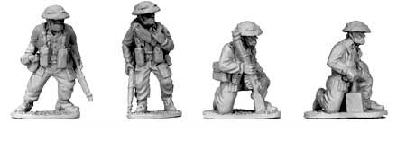 British Infantry Demolition Teams (4)