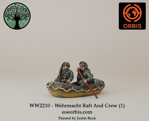 WW2210 - Wehrmacht Raft And Crew (1)