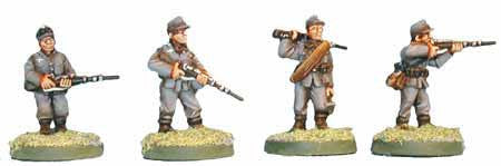 Gebirgsjager with Rifles I (4)