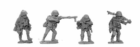 Wehrmacht MG34 Light Support Team (4)