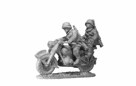 Wehrmacht Despatch Rider with Pillion (1)
