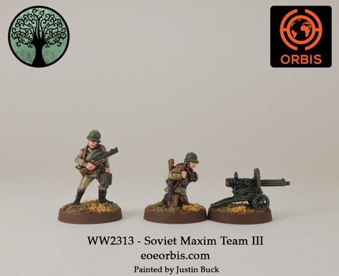WW2313 - Soviet Maxim Team III