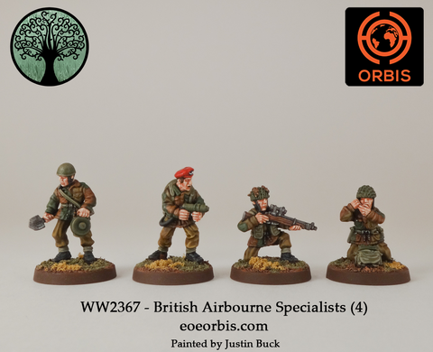 WW2367 - British Airbourne Specialists (4)