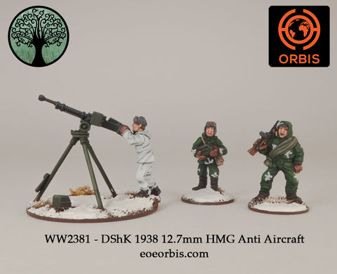 WW2381 - DShK 1938 12.7mm HMG Anti Aircraft
