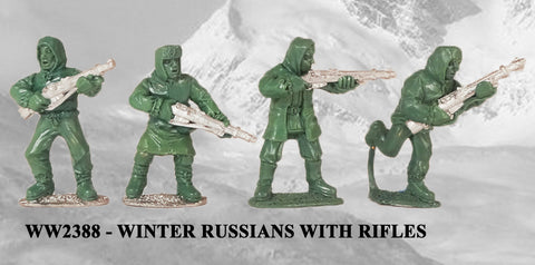 WW2388 - Winter Russians with Rifles I
