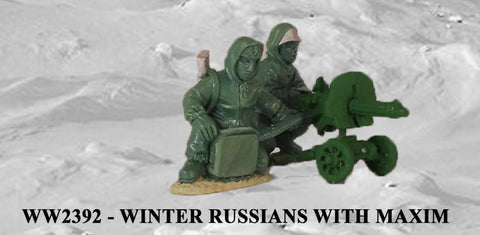WW2392 - Winter Russians with Maxim