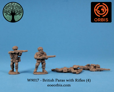 WW9017 - British Paras with Rifles (4)