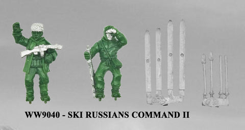WW9040 - Russian Ski Troops Command II