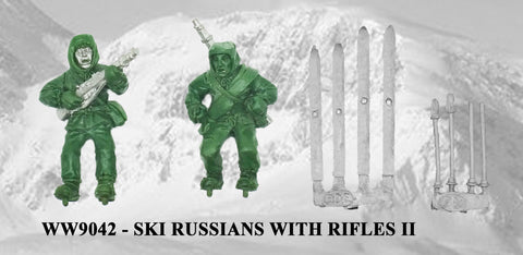 WW9042 - Russian Ski Troops with Rifles II