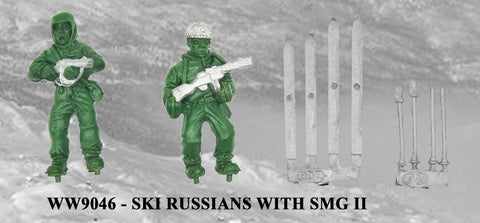 WW9046 - Russian Ski Troops with SMG II