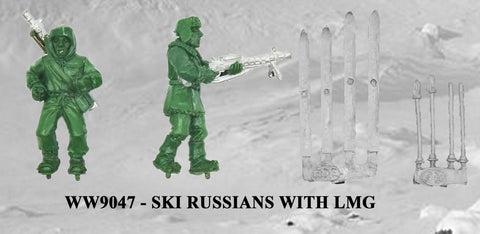 WW9047 - Russian Ski Troops with LMG