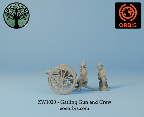ZW1020 - Gatling Gun and Crew