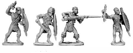 Zulu Warriors with Muskets II (4)