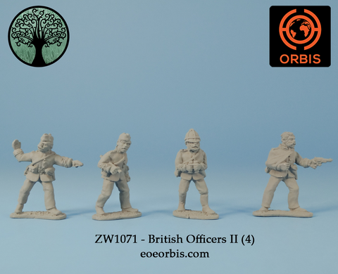 ZW1071 - British Officers II (4)