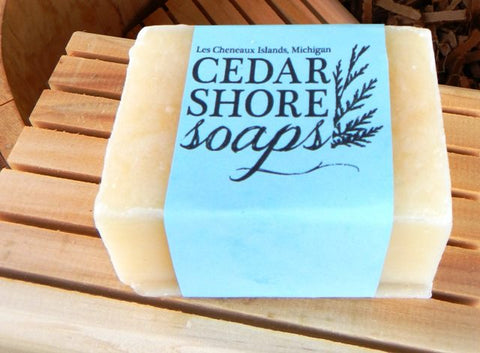 Pure & Natural Soap Bar by Cedar Shore Soaps