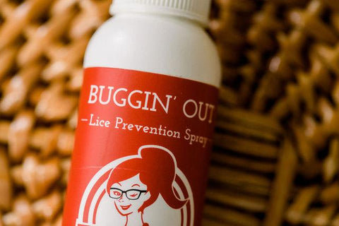 Buggin' Out Lice Prevention- Natural Red
