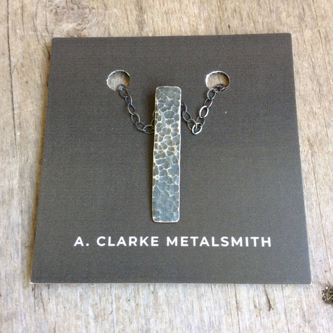 A. Clarke Metalsmith Hammered Necklace