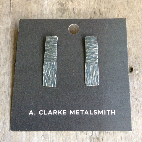 A. Clarke Metalsmith Hammered Studs Large