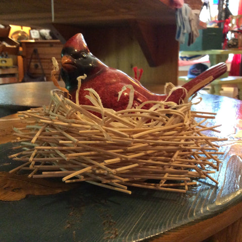 Bird's Nest Basket by Sunset Basketry