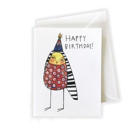Birthday Owl Card by Katie Eberts Illustration