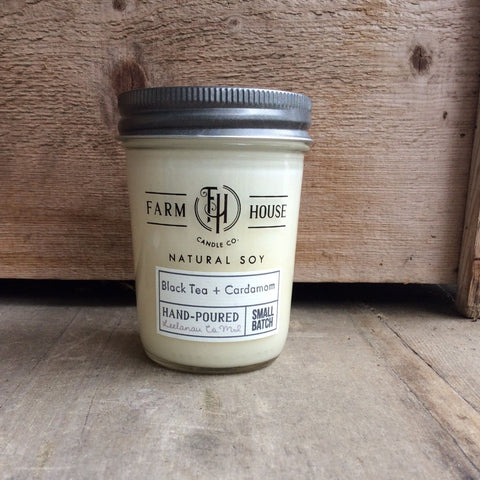 Black Tea + Cardamom - Farm House Candle Co.