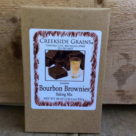 Bourbon Brownie Mix by Creekside Grains