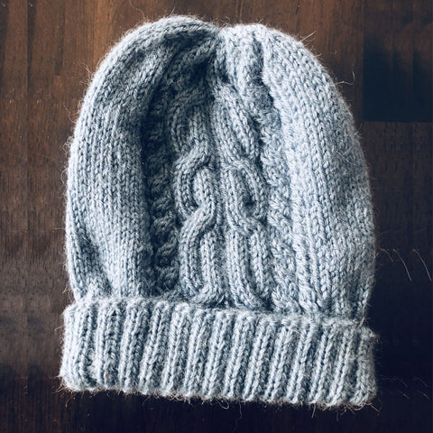 Cabled Hat by Valerie Knits - #2008