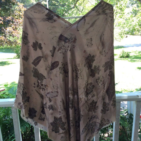DKSBP1 Silk Blend Poncho by Diane Keighley