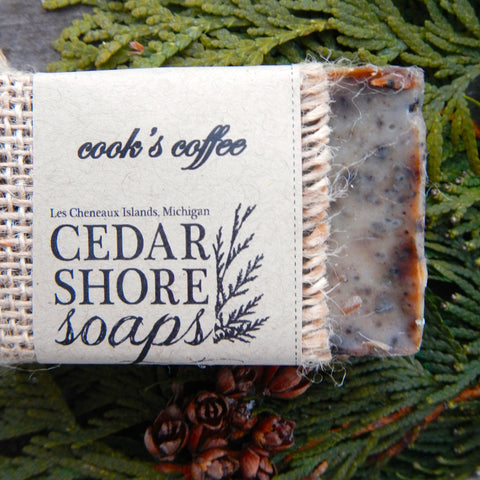 Cook's Coffee Soap Bar
