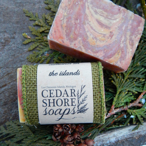 Autumn in the Islands Soap Bar