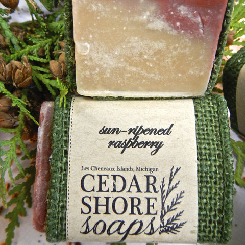 Sun-Ripened Raspberry Soap Bar
