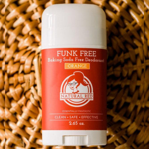 Deodorant- Natural Red-FunkFree