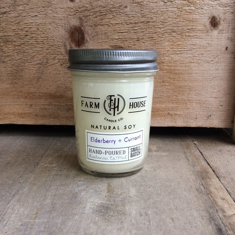 Elderberry + Currant - Farm House Candle Co.