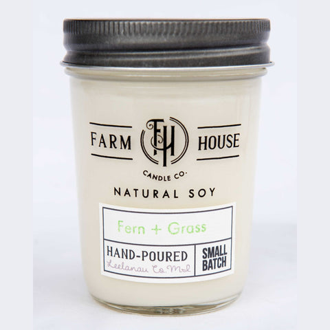 Fern + Grass - Farm House Candle Co.