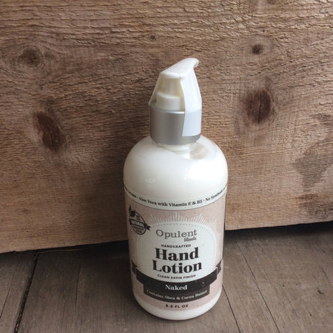 Hand Lotion by Opulent Blends 8.5 oz-Naked