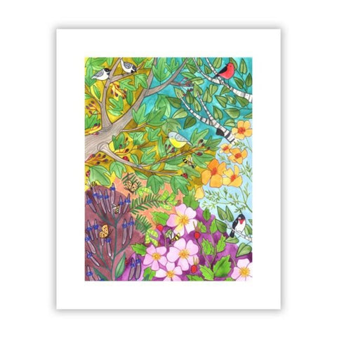 Herbal Spring 8x10 Print by Katie Eberts Illustration