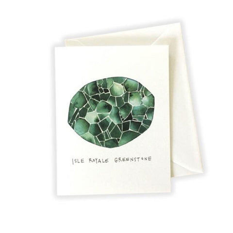Isle Royal Greenstone Card by Katie Eberts Illustration