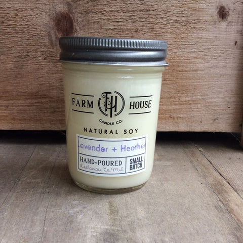 Lavender + Heather - Farm House Candle Co.