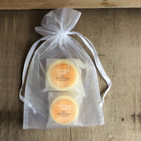 Sol Searcher Shampoo and Conditioner Bar Sets by Soaring Suds